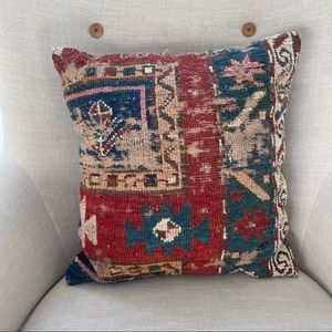 Throw Pillow Persian Rug Cover with Insert